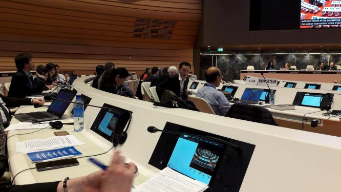 Review session of Moldova at the UN Disability Committee. © MDAC.