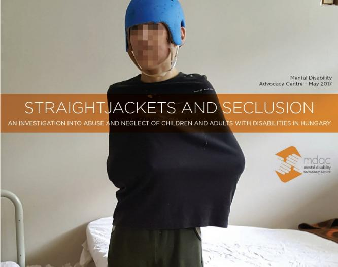 Straightjackets and seclusion. Click the image to read the report.
