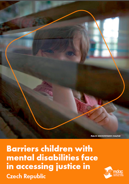 Front cover: Access to justice for children with mental disabilities - Factsheet - Czech Republic