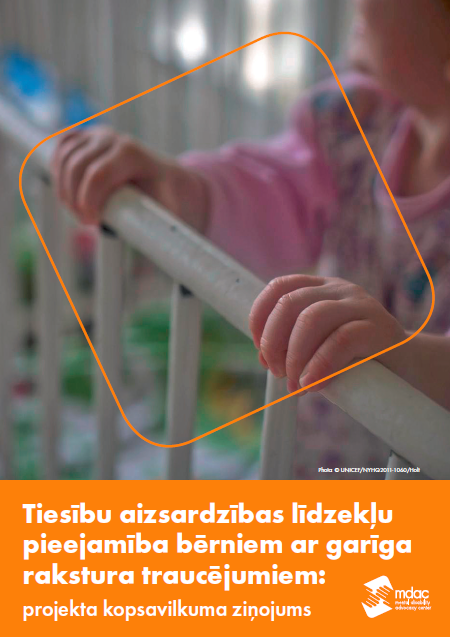 Front cover Access to justice for children with mental disabilities - Report summary - Latvia