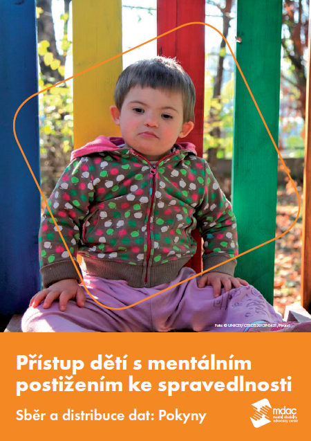 Front cover: Access to justice for children with mental disabilities - Data guidance report - Czech